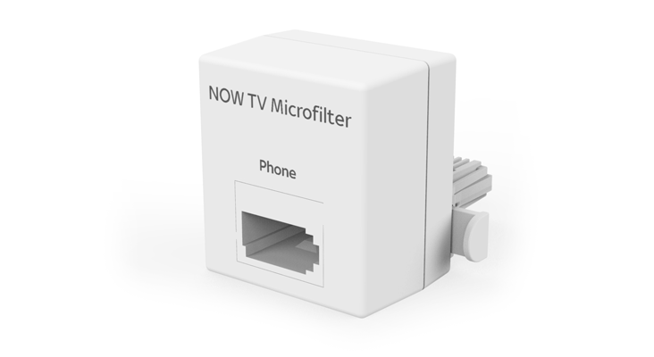 Standard NOW TV Microfilter