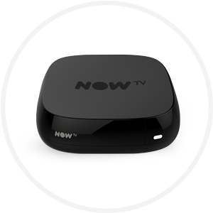 Black NOW TV Box